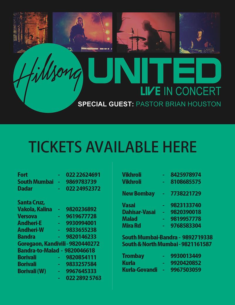 Hillsong UNITED Live in Mumbai